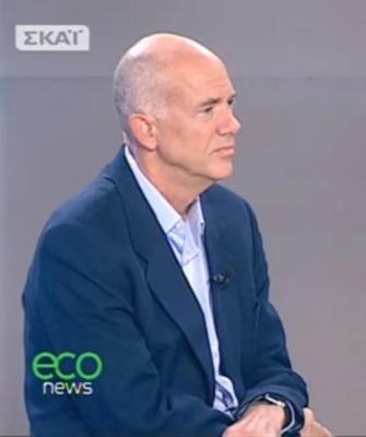 Prof Andreas Papandreou radio interview on Climate Change and Economic Growth